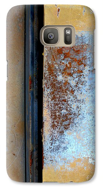 Galaxy Case featuring the photograph Steel Abstract by Robert Riordan