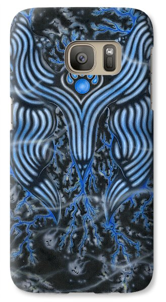 Galaxy Case featuring the painting Steel Courage. by Kenneth Clarke