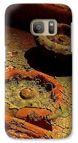 Galaxy Case featuring the photograph Steel Flowers by James Aiken