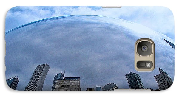 Galaxy Case featuring the photograph Steel Globe by Zafer Gurel