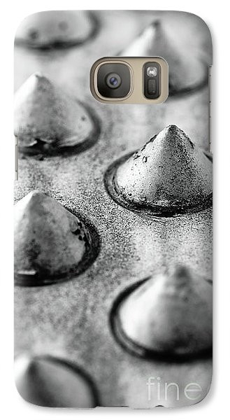 Steel Kisses Galaxy Case by Charles Dobbs