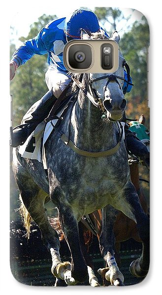 Galaxy Case featuring the photograph Steeplechase by Robert L Jackson