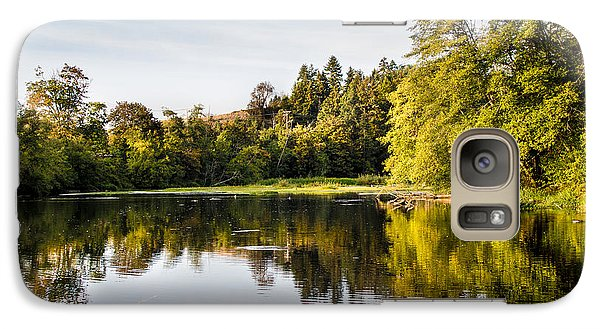 Galaxy Case featuring the photograph Steilacoom Lagoon 2 by Rob Green