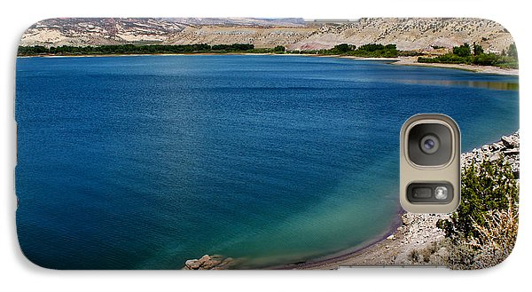 Galaxy Case featuring the photograph Steinacker Reservoir Utah by Janice Rae Pariza