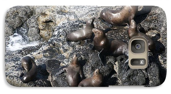 Galaxy Case featuring the photograph Steller Sea Lion - 0030 by S and S Photo