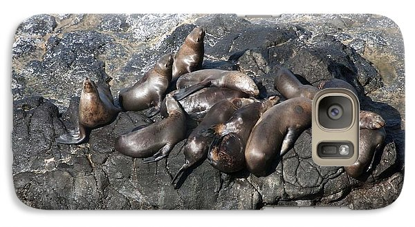 Galaxy Case featuring the photograph Steller Sea Lion - 0032 by S and S Photo