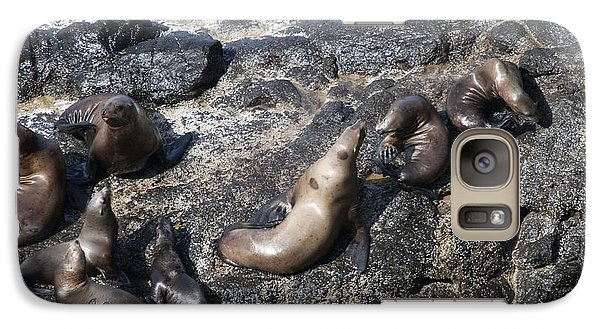 Galaxy Case featuring the photograph Steller Sea Lion - 0038 by S and S Photo