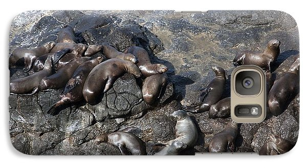 Galaxy Case featuring the photograph Steller Sea Lion - 0040 by S and S Photo