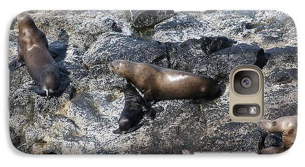 Galaxy Case featuring the photograph Steller Sea Lion - 0043 by S and S Photo