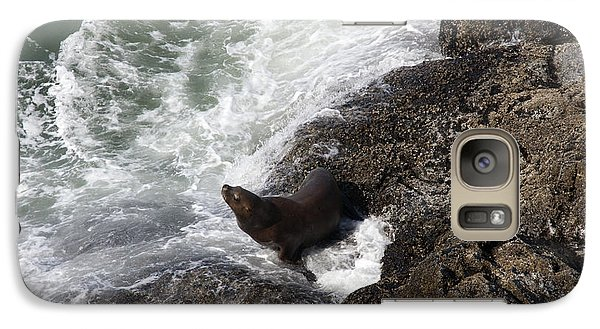 Galaxy Case featuring the photograph Steller Sea Lion - 0045 by S and S Photo