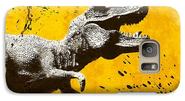 Stencil Trex Galaxy Case by Pixel Chimp