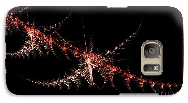 Galaxy Case featuring the digital art Stength And Backbone by Steed Edwards