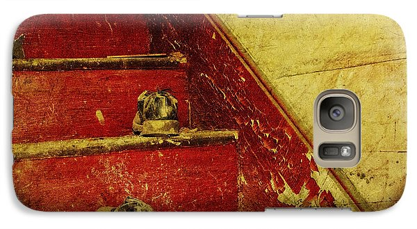 Galaxy Case featuring the photograph Step Back In Time by Debra Fedchin