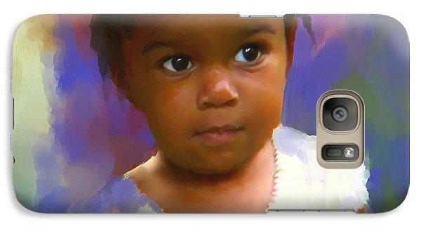 Galaxy Case featuring the digital art Stephanie by Bob Salo