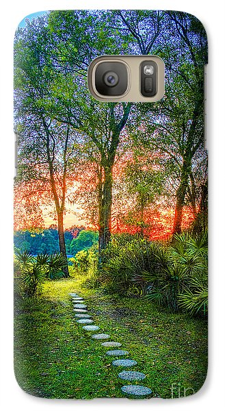 Stepping Stones To The Light Galaxy S7 Case by Marvin Spates