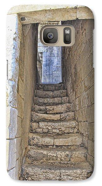 Galaxy Case featuring the photograph Steps To Matera by Oscar Alvarez Jr