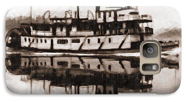 Sternwheeler Sol Simpson 1910 Galaxy S7 Case