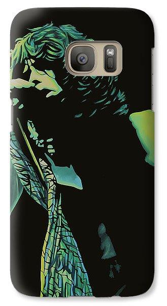 Steven Tyler 2 Galaxy S7 Case by Paul Meijering