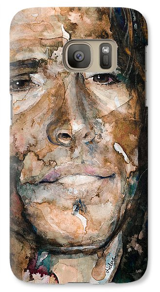 Galaxy Case featuring the painting Get Your Wings by Laur Iduc