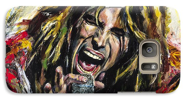 Steven Tyler Galaxy Case by Mark Courage