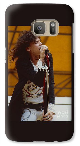 Steven Tyler Of Aerosmith At Monsters Of Rock In Oakland Ca Galaxy S7 Case