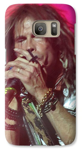 Galaxy Case featuring the photograph Steven Tyler Picture by Jeepee Aero