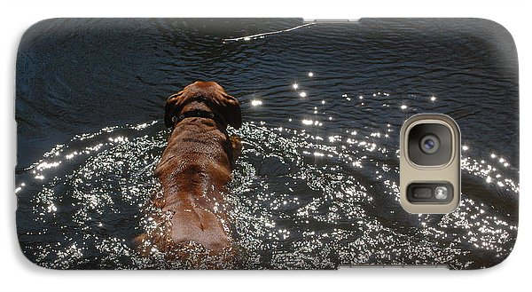 Galaxy Case featuring the photograph Stick by Mim White