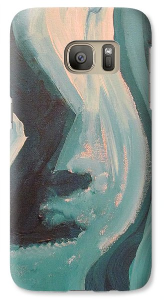 Galaxy Case featuring the painting Still Dancing  by Shea Holliman