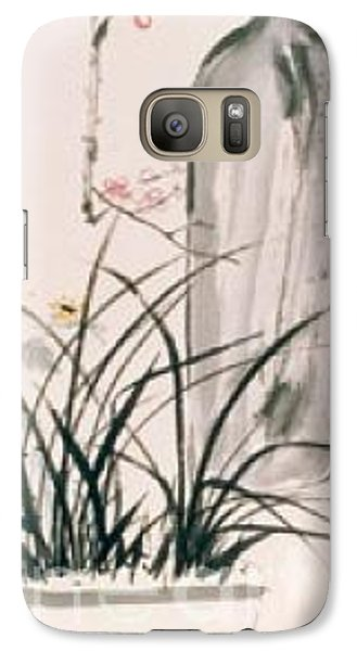 Galaxy Case featuring the painting Still Life And Flower by Fereshteh Stoecklein