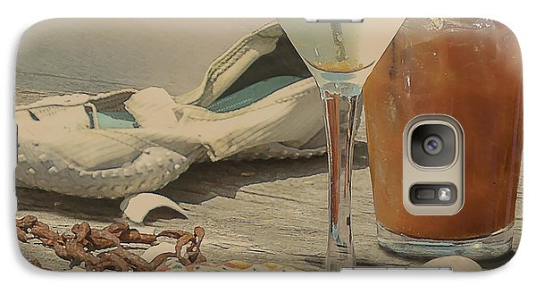 Still Life - Beach With Curves Galaxy S7 Case by Jeff Burgess