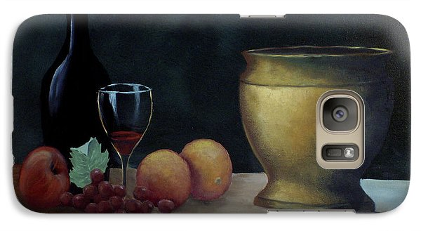 Galaxy Case featuring the painting Still Life by Debra Crank
