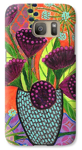 Galaxy Case featuring the painting Still Life I by Lisa Noneman