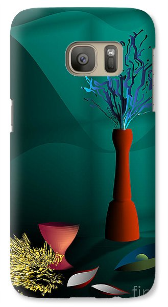 Galaxy Case featuring the digital art Still Life In Studio by Leo Symon