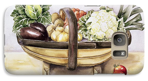 Still Life With A Trug Of Vegetables Galaxy S7 Case