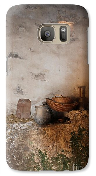 Galaxy Case featuring the painting Still Life With Basket by Elizabeth Carr