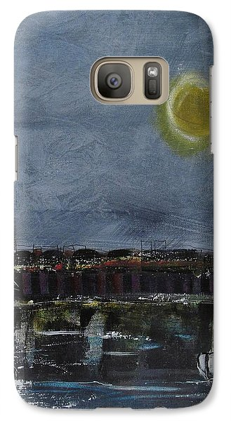 Galaxy Case featuring the painting Still Of The Night # 2 by Nicole Nadeau