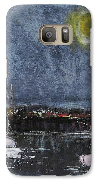 Galaxy Case featuring the painting Still Of The Night  by Nicole Nadeau