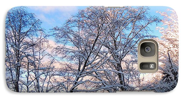 Galaxy Case featuring the photograph Still Of Winter by Karen Horn