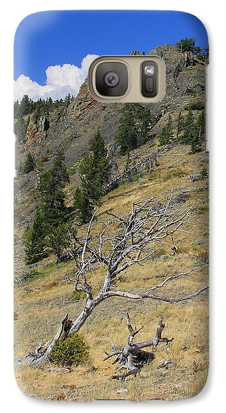 Galaxy Case featuring the photograph Still Standing by Kathleen Scanlan