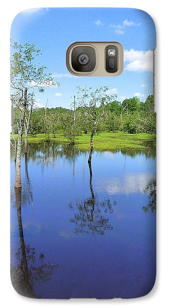Galaxy Case featuring the photograph Still Waters by Jim Whalen