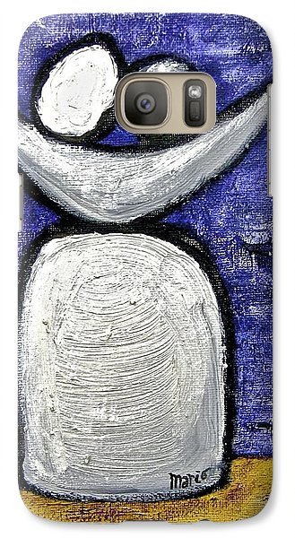 Galaxy Case featuring the painting Stills 10-002 by Mario Perron