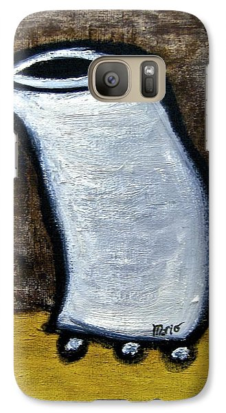 Galaxy Case featuring the painting Stills 10-003 by Mario Perron
