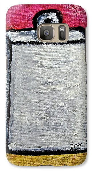 Galaxy Case featuring the painting Stills 10-004 by Mario Perron