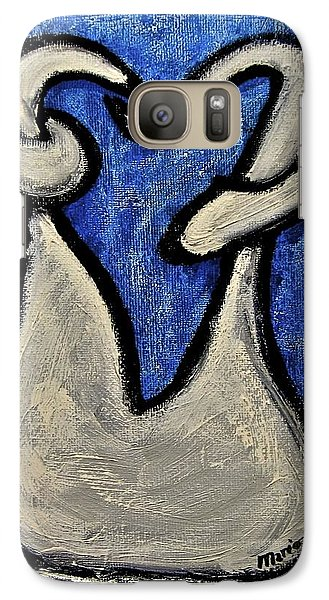 Galaxy Case featuring the painting Stills 10-006 by Mario Perron