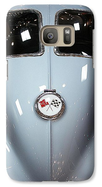 Vehicle Galaxy Case featuring the photograph '63 Sting Ray  by Aaron Berg