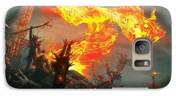 Wizard Galaxy S7 Case - Stoke The Flames by Ryan Barger