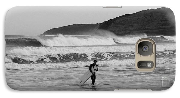 Galaxy Case featuring the photograph Stoked by Amanda Holmes Tzafrir