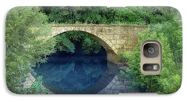 Galaxy Case featuring the photograph Stone Arch Bridge In Butler County by Rod Seel