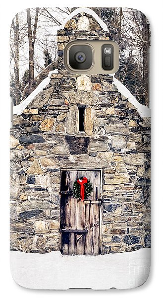Stone Chapel In The Woods Trapp Family Lodge Stowe Vermont Galaxy S7 Case
