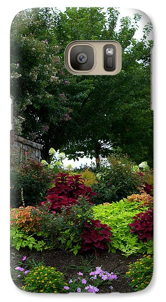 Galaxy Case featuring the photograph Stone Entrance by Cathy Shiflett